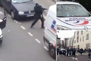 TEROARE la PARIS. 12 persoane au murit dupa ce doi indivizi mascati au deschis focul asupra redactiei unui ziar satiric