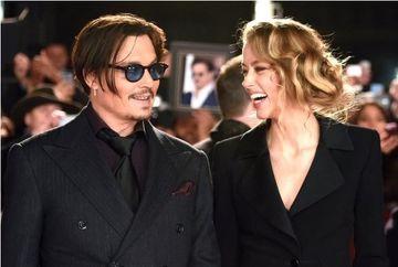 Johnny Depp, in culmea fericirii. S-a CASATORIT cu aleasa inimii sale, superba actrita Amber Heard
