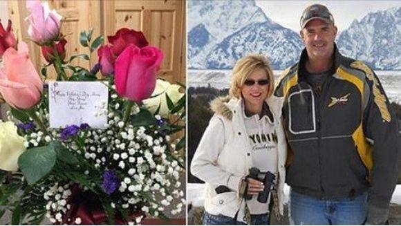 O vaduva, in stare de SOC dupa ce a primit un buchet de flori de Ziua Indragostitilor de la raposatul ei sot desi acesta a murit in urma cu opt luni