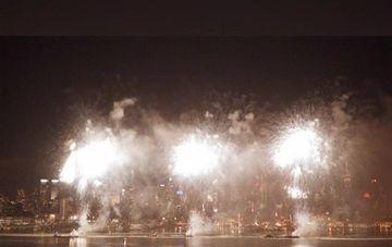 A fost cea mai asteptata noapte din acest an. Chinezii au sarbatorit intrarea in Noul An, cel al Caprei de Lemn!