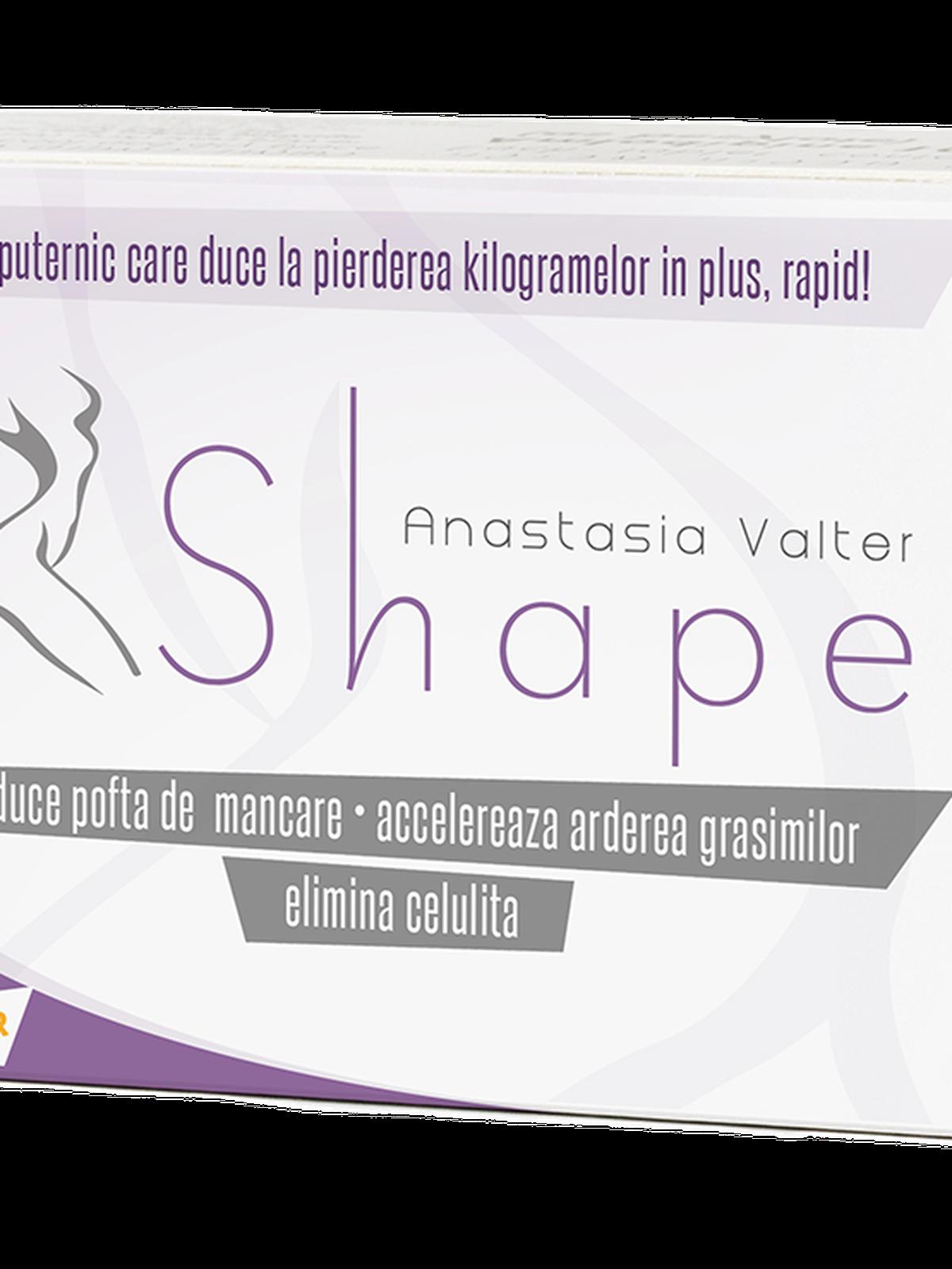 Anastasia Valter Shape, 60 capsule, Laboratoarele Medica : Farmacia Tei online