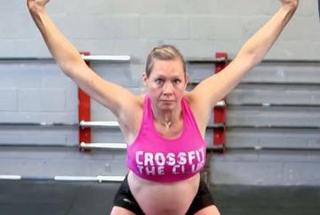 E incredibil ce face aceasta femeie, desi este insarcinata in 8 luni! Si medicii care au vazut-o au fost socati