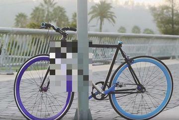 Aceasta e prima bicicleta care nu poate fi furata. E GENIAL ce face atunci cand cineva incearca s-o fure
