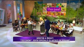 """""""Teo show"""", editie speciala in a doua zi de Paste, cu artisti de renume!"""