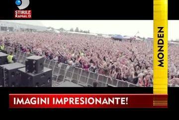 INNA a devenit un FENOMEN INTERNATIONAL! Vezi in VIDEO imagini EMOTIONANTE de la concertul ei din Helsinki