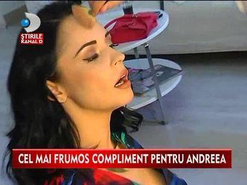 """Cel mai frumos compliment pentru Andreea Marin! Cum a ajuns sa i se spuna """"zana""""? VIDEO"""
