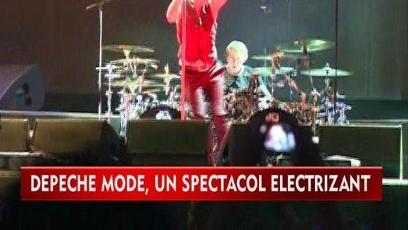 Depeche Mode a facut SENZATIE la Bucuresti! Fanii au fost in delir la concertul britanicilor VIDEO