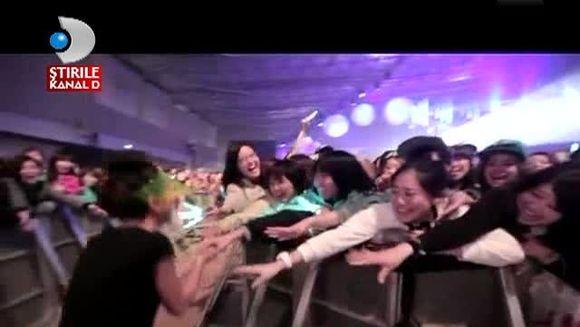 Inna A CUCERIT Japonia! Iata ce ISTERIE a fost la concertul ei din Tokyo VIDEO