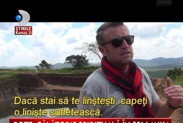Catalin Botezatu, AVENTURI din Sri Lanka VIDEO
