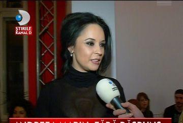 "Andreea Marin: ""Sunt un om caruia ii place frumosul!"" VIDEO"