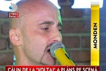 Calin Goia, EMOTIONAT PANA LA LACRIMI pe scena VIDEO