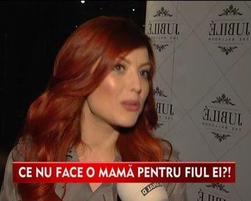 """Elena Gheorghe: """"Copilaresc impreuna cu fiul meu, Nicholas"""" VIDEO"""
