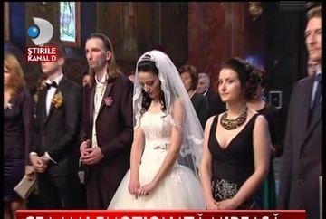 Cantaretul de muzica populara, Florin Vasilica, IN CULMEA FERICIRII. S-a casatorit dupa 13 ani de relatie VIDEO