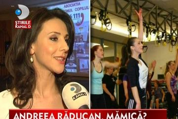 Andreea Raducan vrea sa devina MAMA cat mai repede cu putinta VIDEO