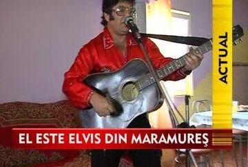 Faceti cunostinta cu Elvis Presley de la Somcuta Mare! VIDEO