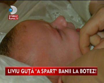 PETRECERE DE FITE. Cati bani a scos Liviu Guta din buzunar pentru botezul fiicei sale VIDEO
