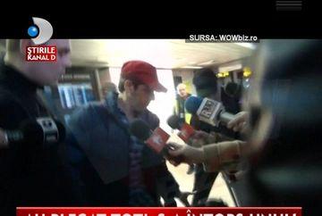 Stefan Banica Jr s-a intors SINGUR din Dubai VIDEO