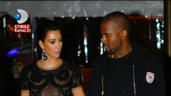 Kim Kardashian, IN CULMEA FERICIRII. Controversata vedeta va deveni mamica VIDEO