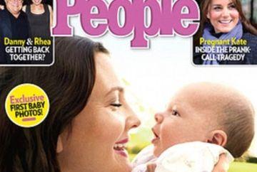 """E o minune!"" Drew Barrymore isi prezinta fetita"