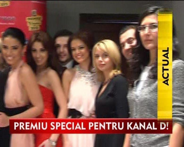 Kanal D, premiu pentru cea mai spectaculoasa evolutie VIDEO