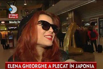 Elena Gheorghe a plecat in Japonia! Vezi cu ce vrea sa ii cucereasca pe niponi VIDEO