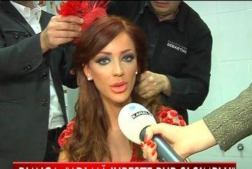 Bianca Dragusanu, criza de nervi in culisele unei prezentari de moda VIDEO