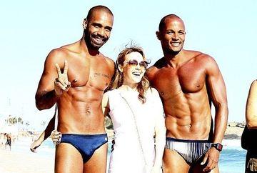 Kylie Minogue INTOARCE CAPUL DUPA BARBATI. Vezi cine a fermecat-o pe artista! GALERIE FOTO
