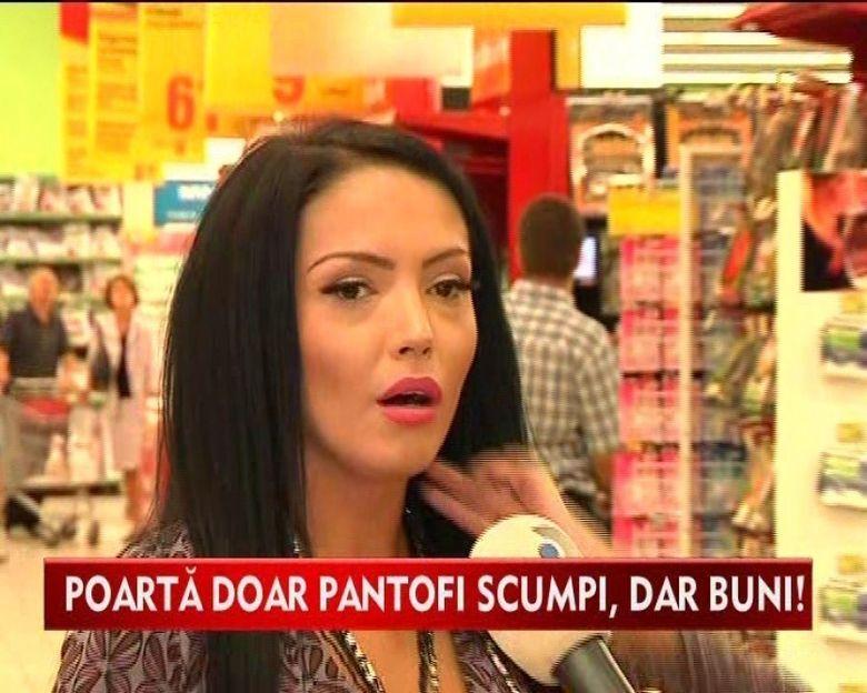 Andreea Mantea, pasionata de pantofi si...slanina cu ceapa! VIDEO