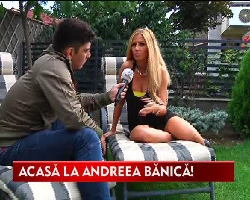 "Andreea Banica, pazita de cel mai ""fioros"" bodyguard! VIDEO"