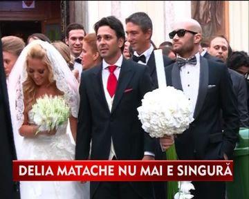 Delia Matache, nunta ca in povesti cu iubitul ei, Razvan Munteanu VIDEO