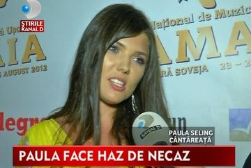 Paula Seling, GAFA DE PROPORTII la Festivalul Mamaia VIDEO