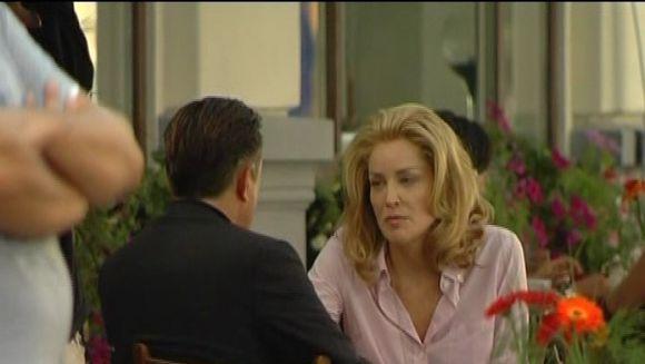 Sharon Stone si Andy Garcia, imbratisari patimase in Centrul Vechi VIDEO