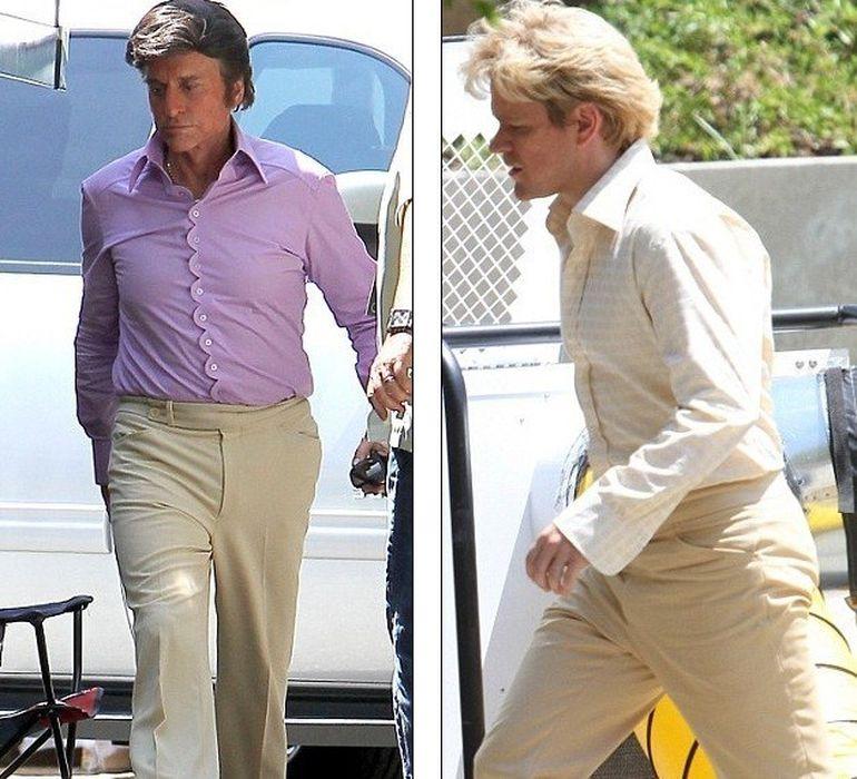 Michael Douglas si Matt Damon