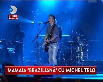 "Michel Telo, artistul care canta ""AI SE EU TE PEGO"" a facut SHOW FIERBINTE la Mamaia VIDEO"