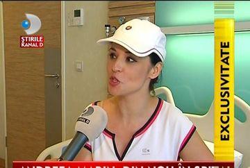 EXCLUSIV! Andreea Marin se recupereaza la o clinica din Turcia VIDEO