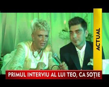 STIREA ZILEI: Interviu IN EXCLUSIVITATE, acordat de Teo Trandafir de la nunta! VIDEO