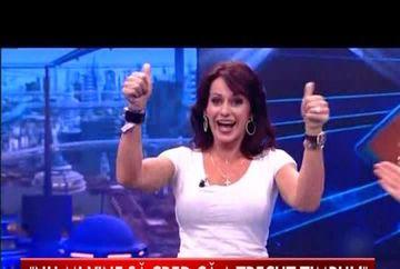 Nadia Comaneci, intr-o forma de zile mari! I-a innebunit pe spanioli intr-o emisiune tv VIDEO