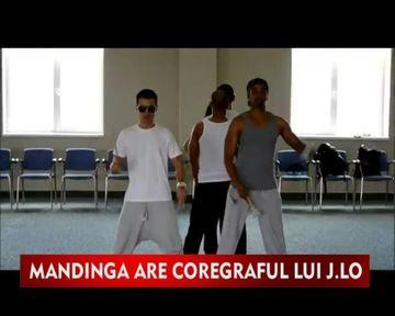 Coregraful lui Beyonce pregateste trupa Mandinga pentru Eurovision!