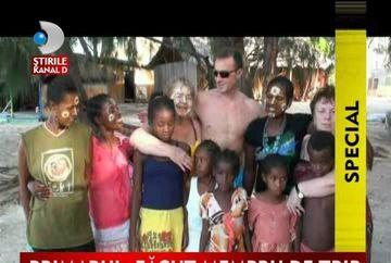 Radu Mazare, sef de trib in Madagascar VIDEO