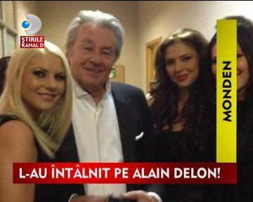 Alain Delon, vrajit de frumusetea fetelor de la Heaven VIDEO