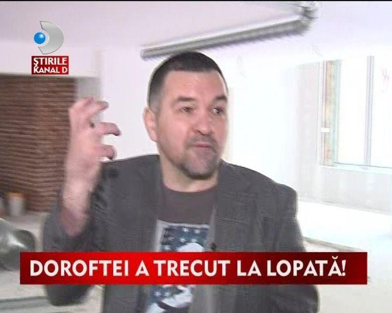 Leonard Doroftei, in inspectie pe santier VIDEO
