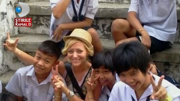 Delia, vacanta exotica in Asia VIDEO