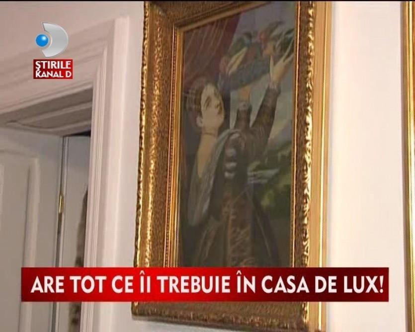 Iata una dintre cele mai luxoase vile din Bucuresti VIDEO