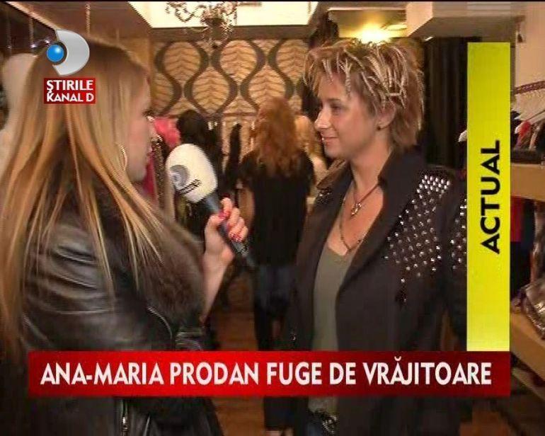 Ana-Maria Prodan despre vrajitoare: N-as vrea sa se supere Oana pe mine. Uite ce a declarat impresara! VIDEO