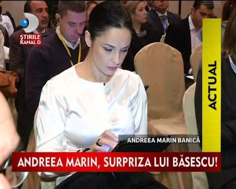 Andreea Marin intra in politica? Vedeta a fost vazuta intr-o discutie cu Traian Basescu VIDEO