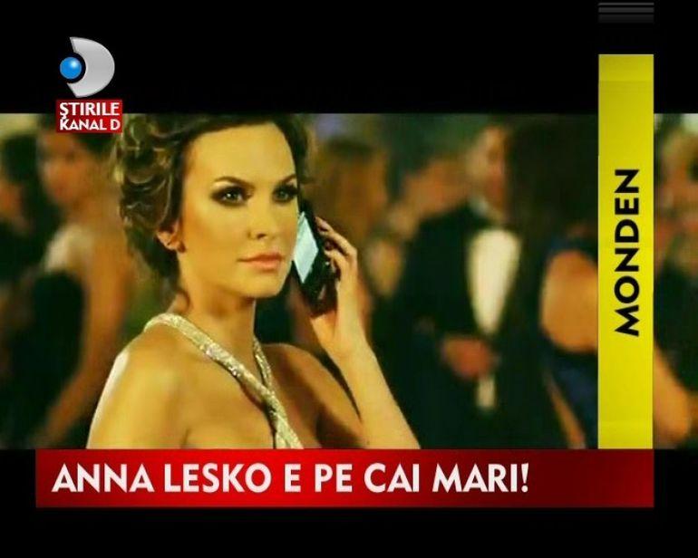 Anna Lesko, din culisele celui mai recent videoclip VIDEO