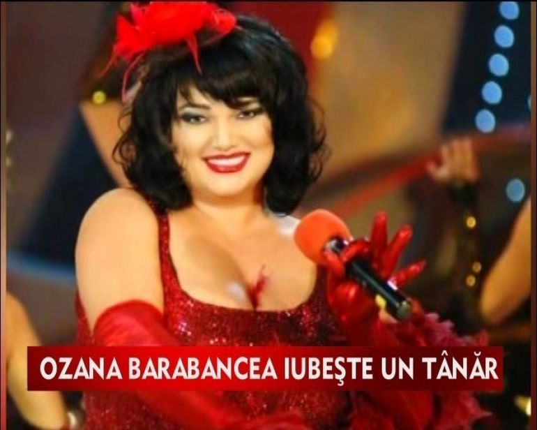 Ozana Barabancea se iubeste cu un barbat mult mai tanar ca ea VIDEO