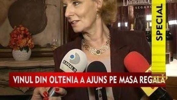 Uite care-i vinul preferat al Principesei Margareta!VIDEO