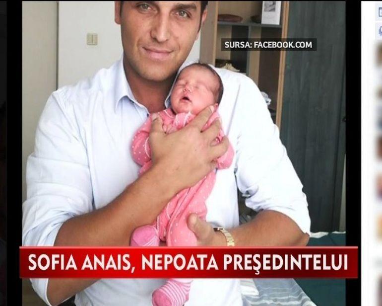 Sofia Anais, printesa bunicului Traian Basescu!