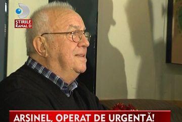 Alexandru Arisnel, INTERNAT la TERAPIE INTENSIVA. Actorul a suferit un transplant de rinichi